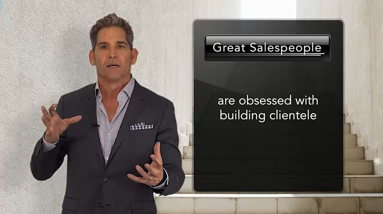 Great Sales People are obsessed with building clientele...