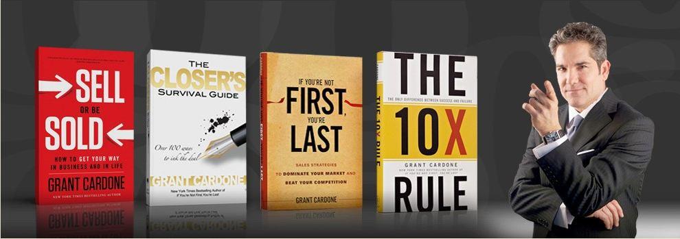 Grant Cardone Books