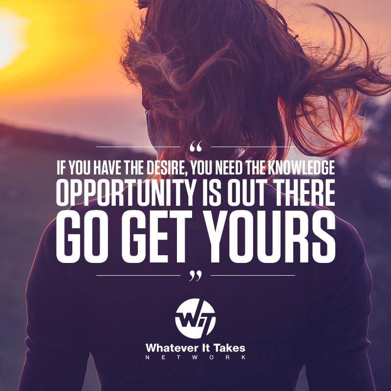Never Say No to Opportunity
