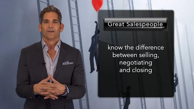 selling, negotiating and closing