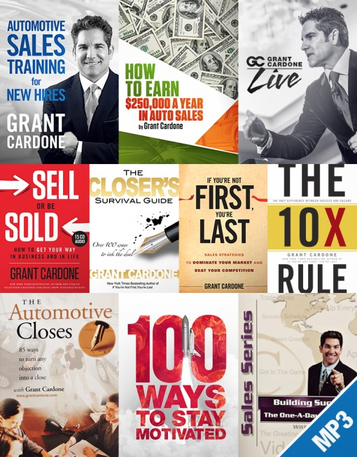 Permalink to: Grant Cardone Products