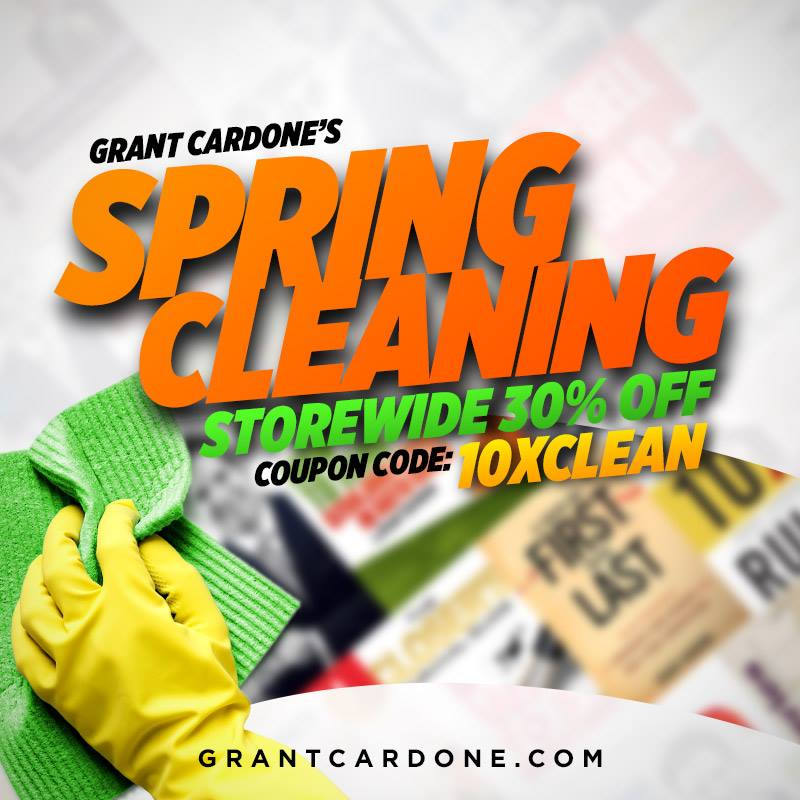 Grant Cardone Coupon Code for Spring