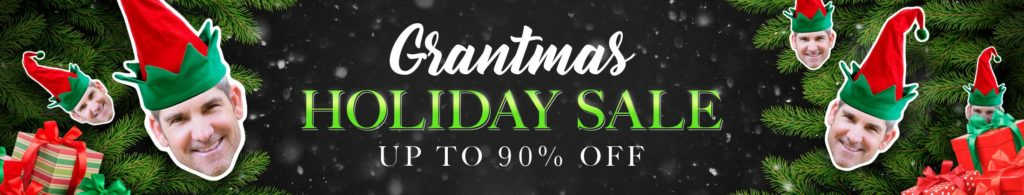 Grant Cardone Holiday Sale