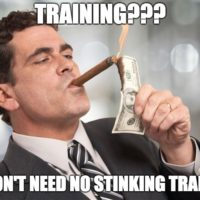dealer won't pay for training