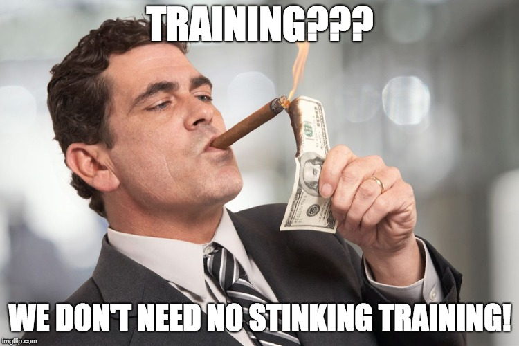 when the dealer won't pay for training