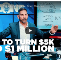 How to Turn $5K into $1 Million - Grant Cardone