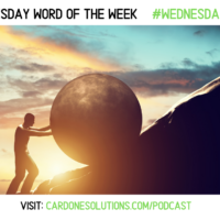 PERSISTENCE: The Wednesday Word