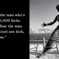 Bruce Lee and Sales Training