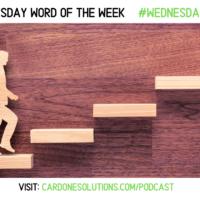 PROGRESSION: The Wednesday Word