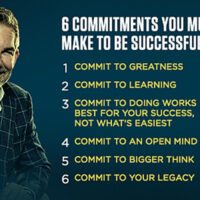 Commitments You Must Make