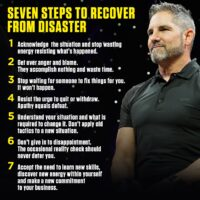 Grant Cardone's 7 Steps To Recover From Disaster