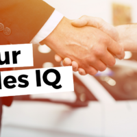 your sales IQ