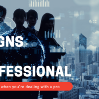 Signs Of A Professional