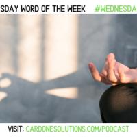 INTENTION: The Wednesday Word #WednesdayWisdom