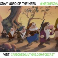 Work: The Wednesday Word