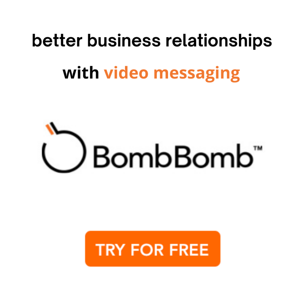 video email with bombbomb
