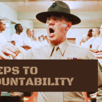 3 steps to accountability